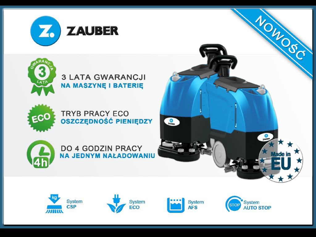 Premiera nowej linia maszyn Zauber® Li-ionTECHTM!